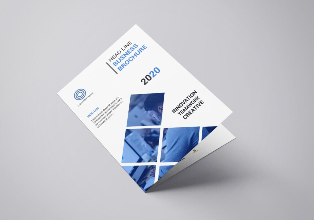 How to design a corporate brochure